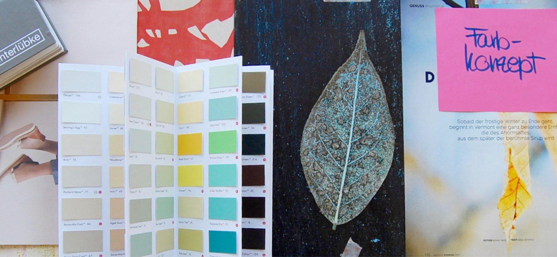 Farbkonzepte Innenarchitektur