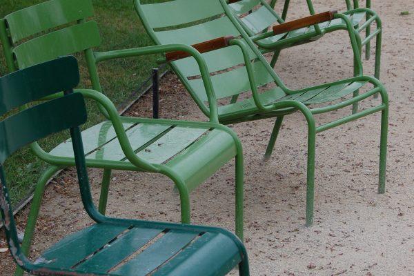 Parkstühle Jardin de Luxembourg