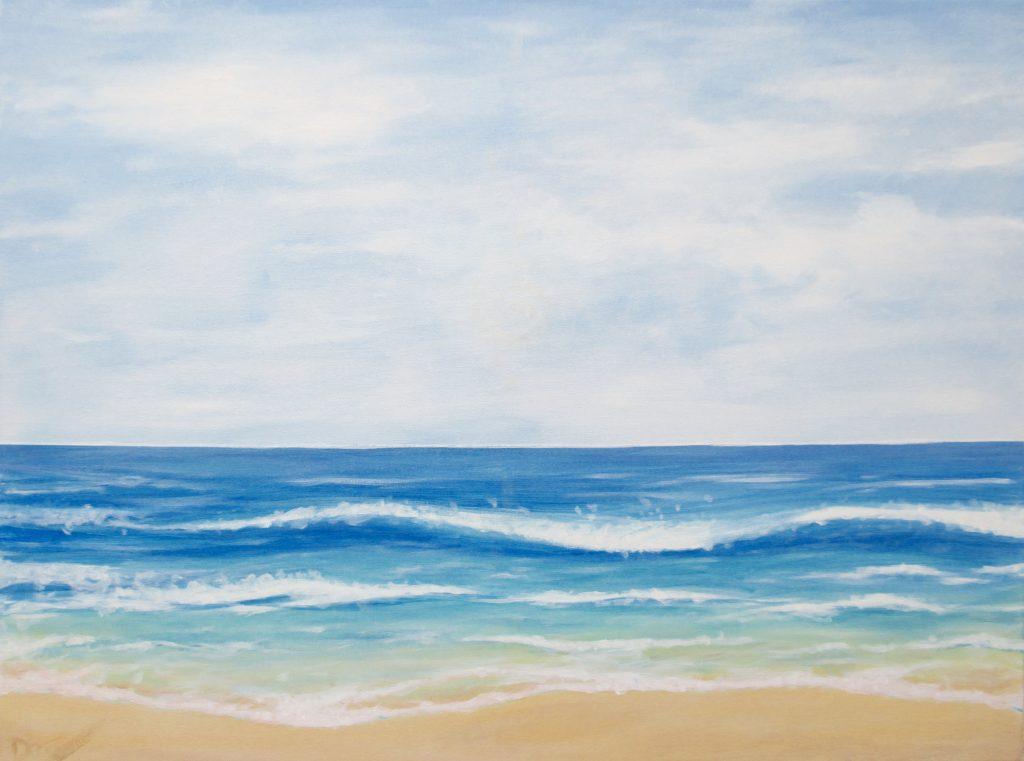 Meeresbild für eine Praxis